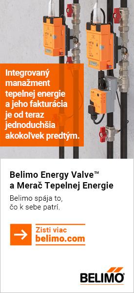 Belimo Energy Valve a merač tepelnej energie