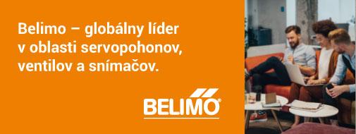 Belimo – servopohony, ventily a snímače