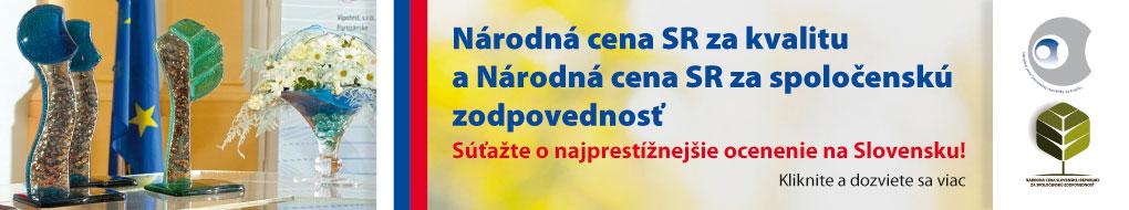 Národná cena SR za kvalitu a spoločenskú zodpovednosť 2016