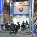 Slovensko reprezentuje oficiálny stánok MH SR, v ktorom vystavuje šesť slovenských firiem